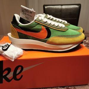 Nike Sacai x LDWaffle Green Gusto